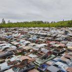 used auto salvage yard